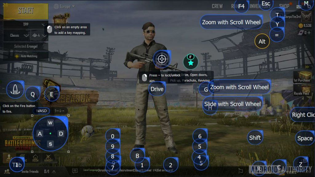 Tencent Gaming Buddy Pubg Mobile Customize Controls