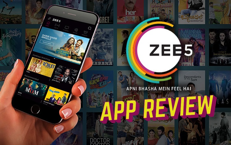Zee5 An App For Complete Entertainment Of The Whole Family